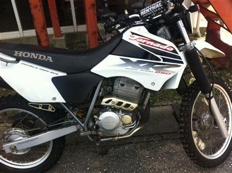 ホンダ XR250トルネード