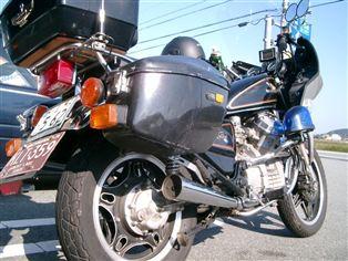 ホンダ GL500 ウイングカスタム