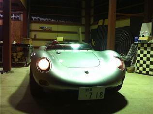 ポルシェ 718RSKスパイダー
