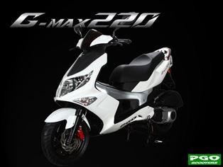 PGO G-MAX220