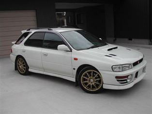 スバル インプレッサ スポーツワゴン WRX STi Ver.IV