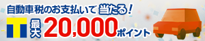 自動車税のお支払いでTポイント最大20,000ポイント当たる! - Yahoo!公金支払い