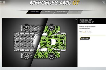 AMG GTのペーパークラフトをDL!