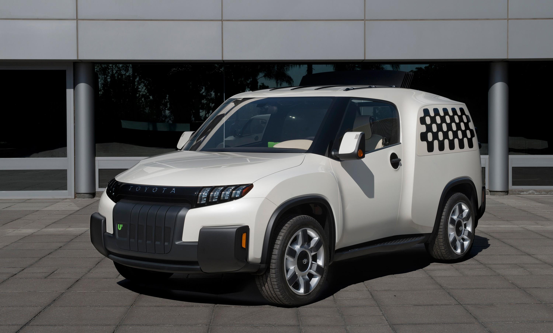 米トヨタ、都市向けの新コンセプトカー発表