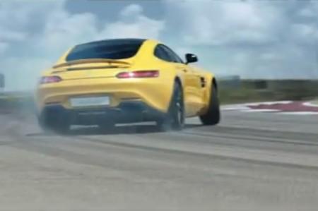 メルセデスAMG GTのサーキット走行