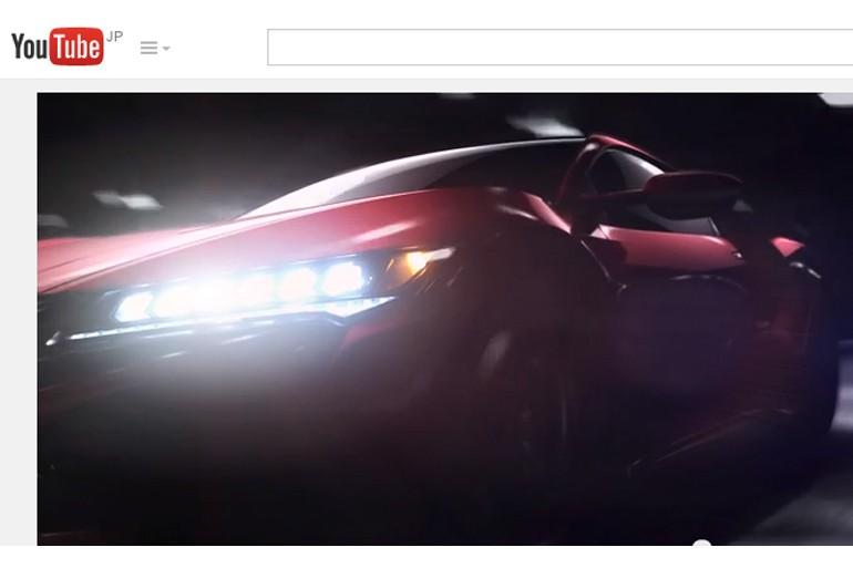 アキュラ、次期NSXの予告映像を公開