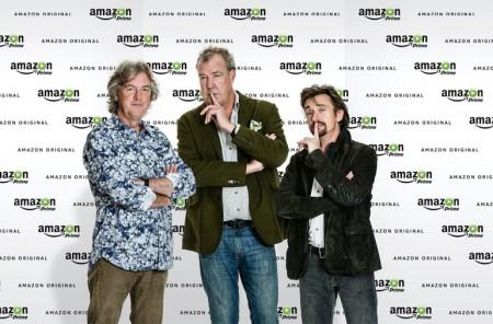 Amazon 前トップギア3人衆と番組契約