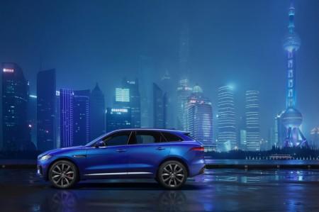 ジャガー新型SUV F-Pace ついに公開