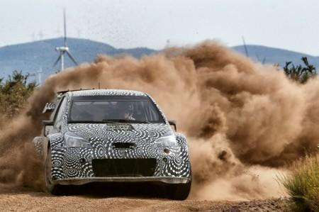 ヤリス(ヴィッツ)WRCの映像公開