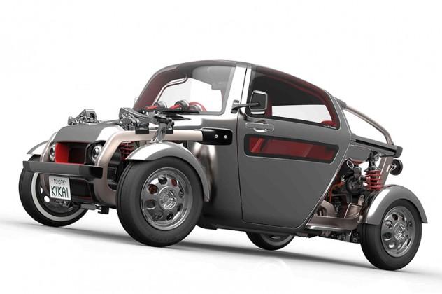 トヨタはFR入門スポーツなどを世界初公開
