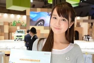 東京モーターショー2015で話題になったダイハツ美人
