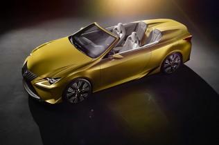 レクサス オープンカーコンセプト発表