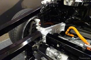 車体骨格に先進の鋳造法部材を使用