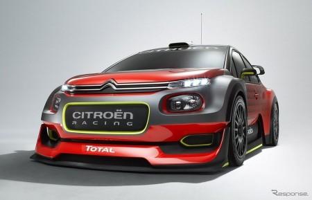 シトロエン C3 WRCコンセプト初公開へ