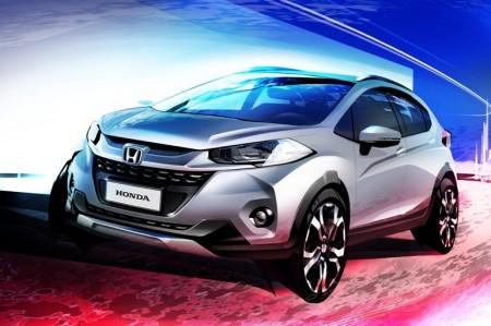 ホンダ 新型SUV WR-Vを世界初披露