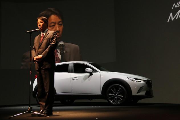 マツダCX-3を発売 価格は230万円台から