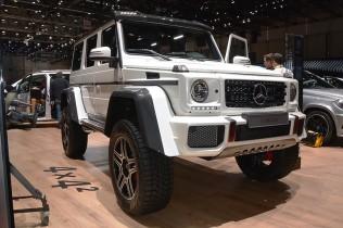 メルセデス G500 4x4 スクエアード