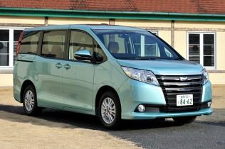国産ミニバン 注目6車種(2015年5月)