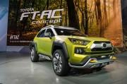 トヨタ・FT-AC発表。斬新デザインのオフロード向け小型SUVコンセプト