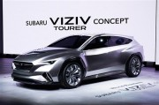 新型「ツーリングワゴン」になるのか? 「スバル ヴィジヴ ツアラー コンセプト」世界初公開