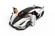 ケーニグセグ、超高性能スポーツカー レゲーラの市販モデルを披露