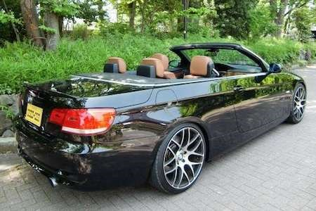 中古:春!BMWの4人乗りオープンカー