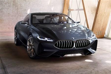BMW、コンセプト8シリーズ…
