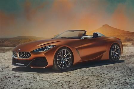 BMW、次期Z4のコンセプトカーを披露