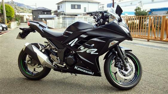 カワサキ Ninja 250 ABS KRT Winter Test Edition