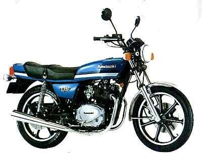 カワサキ Z250FT A4