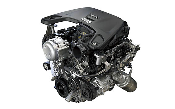 3.6リッターエンジン