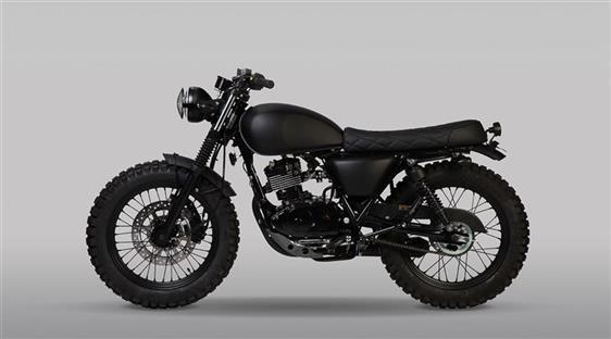 MUTT motorcycles FAT SABBATH 125