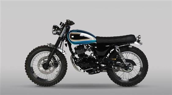 MUTT motorcycles SUPER-4 125