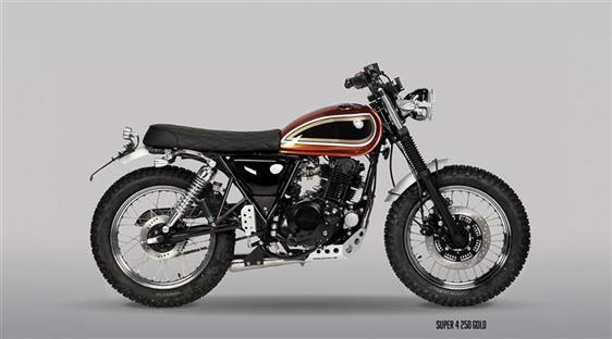 MUTT motorcycles SUPER-4 250