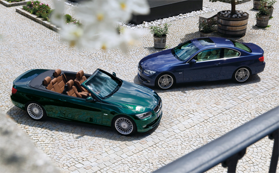 BMWアルピナ B3 S BiTurbo カブリオ