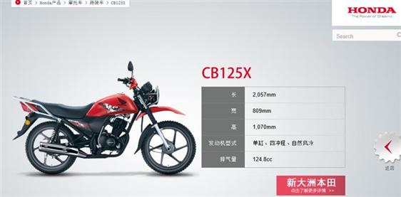ホンダ CB125X