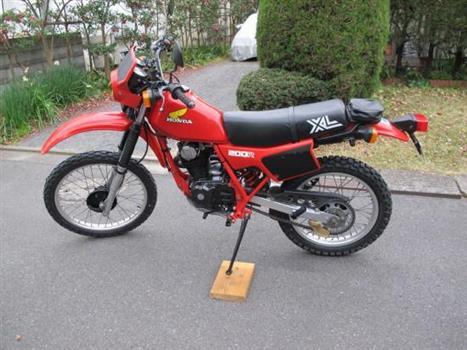 ホンダ XL200R