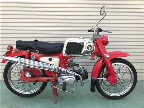 ホンダ スポーツカブC115