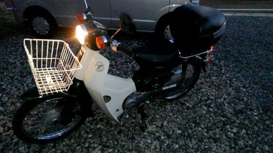 ホンダ スーパーカブ50 2000年モデル