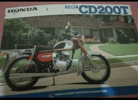 ホンダ CD200