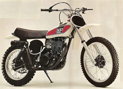 ヤマハ TT500