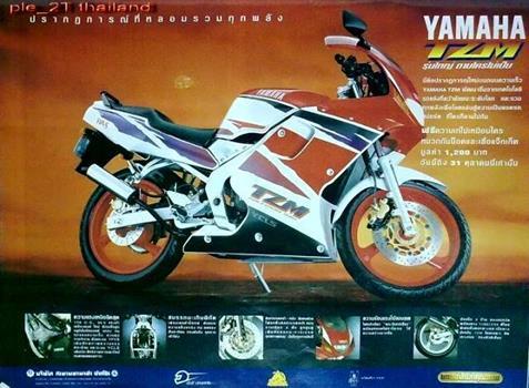 ヤマハ TZM150