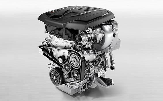 2.0リッターガソリンエンジン