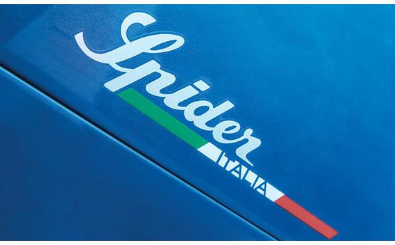4C スパイダー イタリア(特別仕様車)
