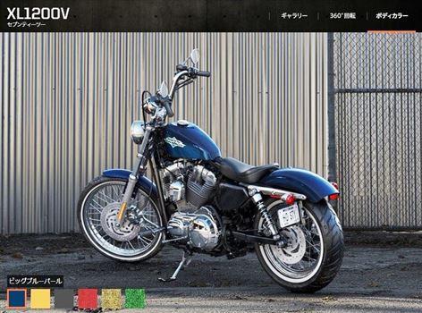 ハーレーダビッドソン XL1200V