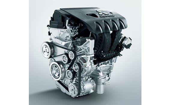 2.0リッター MIVEC SOHC 16バルブ エンジン