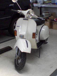 ベスパ P150X