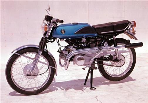 スズキ 初代ウルフ125