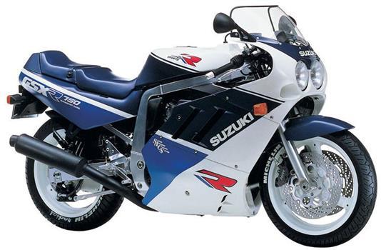 スズキ GSX-R750_GR77C