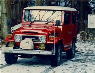 トヨタ ランドクルーザーBJ41V